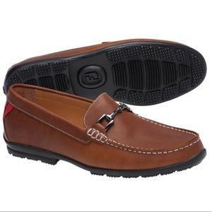NWOB Men's Brown Footjoy loafers.